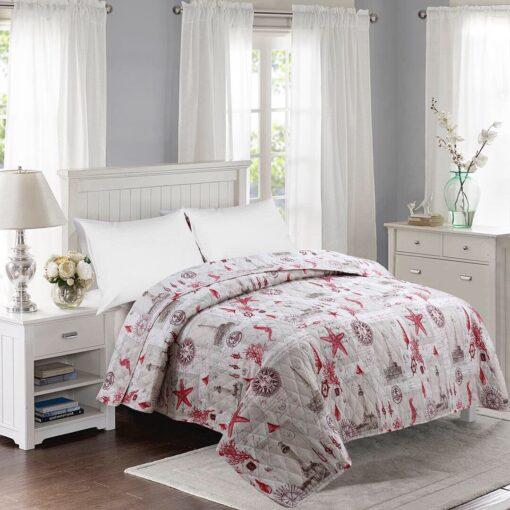 kétoldalas ágytakaró