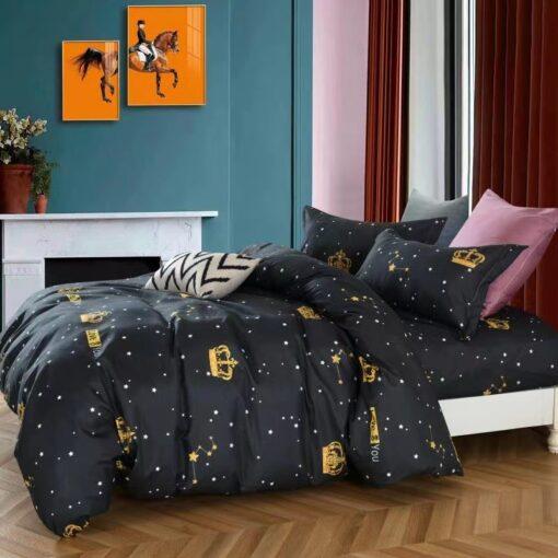 Korona és csillag mintás