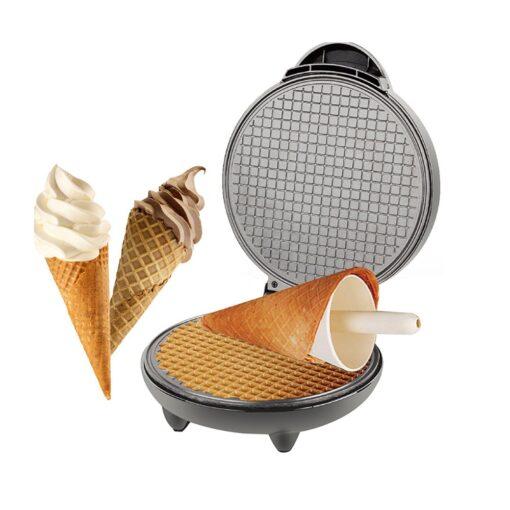 Elektromos ostya és fagyi tölcsér sütő