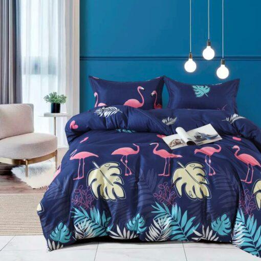 Flamingó mintás ágyneműhuzat