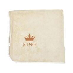 Queen & King 4 részes mikrofiber törölköző szett