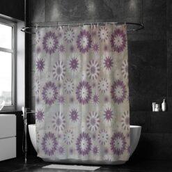 Színes, mintás zuhanyfüggöny