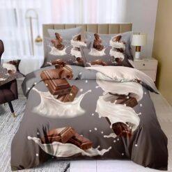 3D Csokoládé ágyneműhuzat