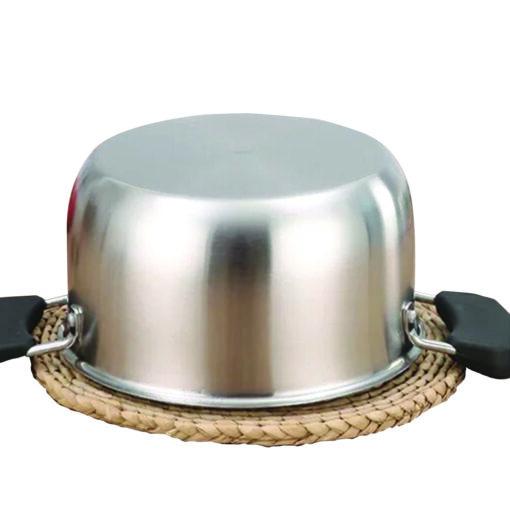 Rozsdamentes acél fazék – több méretben