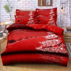 Piros karácsonyi csoda ágyneműhuzat